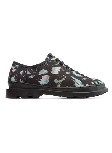 Desenli Bağcıklı Ayakkabı-Camper
